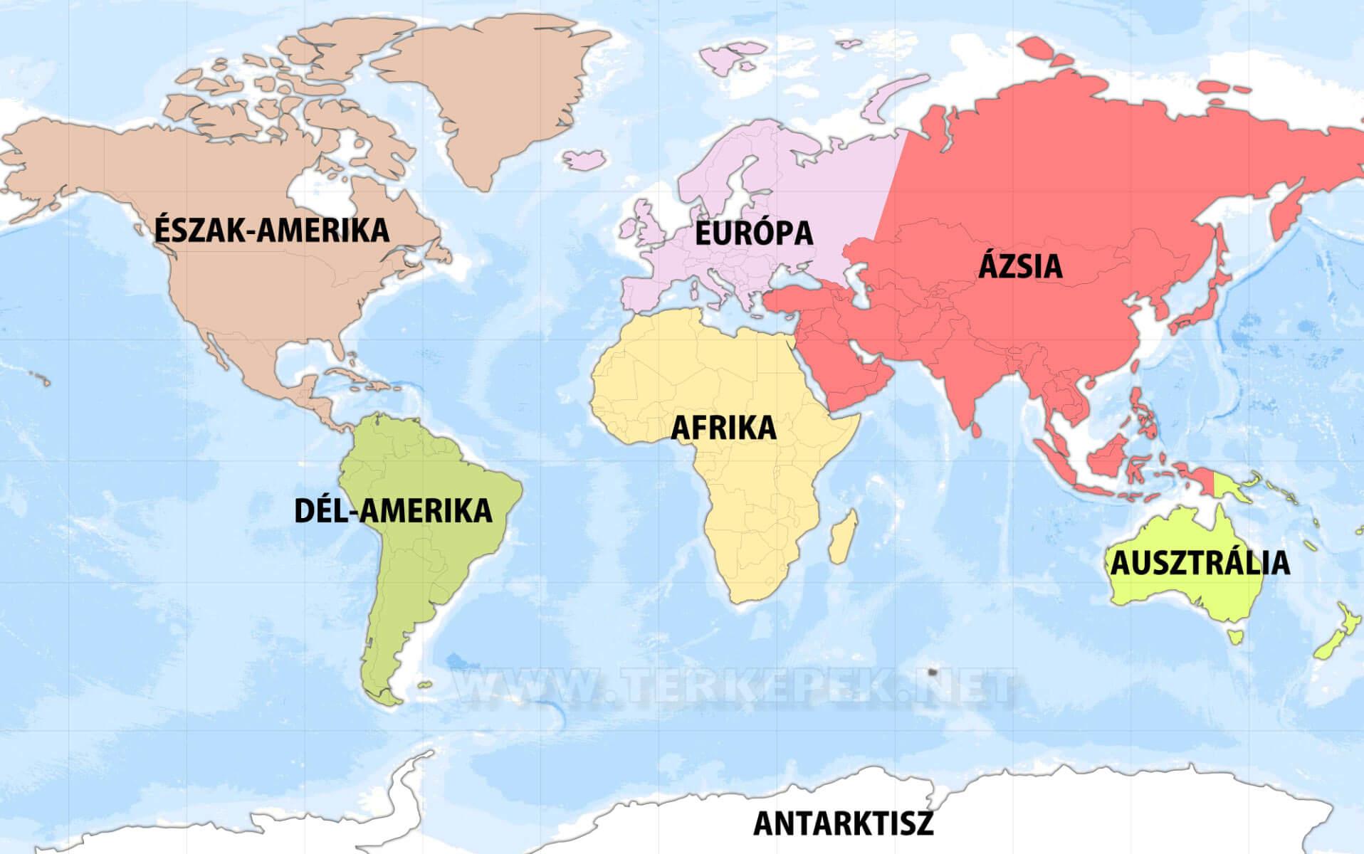 térkép világ Világtérkép országokkal magyar nyelven térkép világ